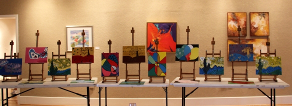 art_exhibition_august_kids_easels